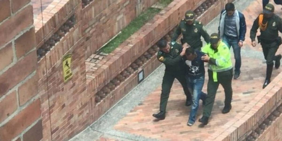 Video: así capturaron al asesino de un funcionario de la Gobernación de Cundinamarca