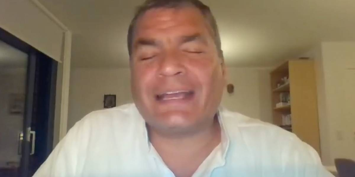 """El video de Rafael Correa sobre """"los corruptos"""": Se les acabó el tiempo"""