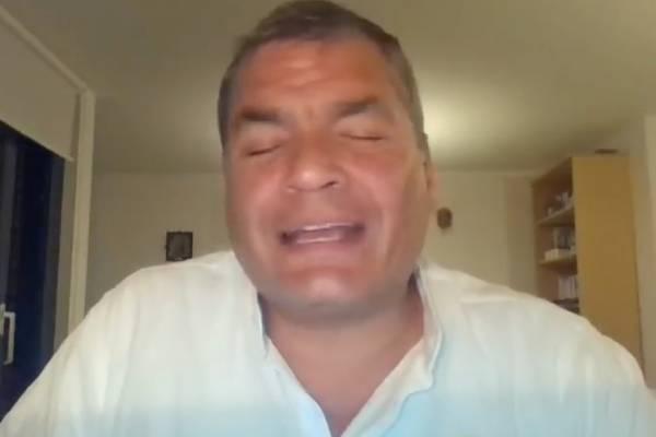 """Rafael Correa publicó video de """"los corruptos"""": Se les acabó el tiempo"""