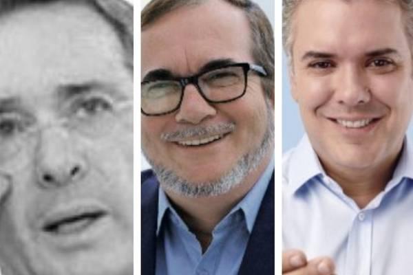 Uribe arremetió contra Farc luego de que Duque invitó a Timochenko a Casa de Nariño