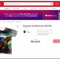 Bolsonaro camisetas lojas americanas  Bolsonaro camisetas lojas americanas  ... e0aeef9e75cdf