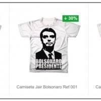 Bolsonaro camisetas lojas americanas ... 01709ebb56c3c