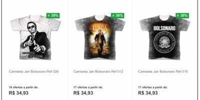 ... Bolsonaro camisetas lojas americanas 2665a5d3e1377