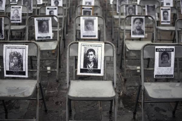desaparecidos durante el conflicto armado interno en Guatemala