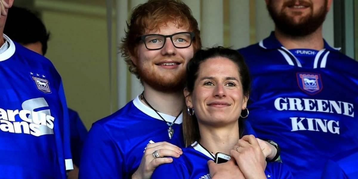 Ed Sheeran reveló que se casó en secreto