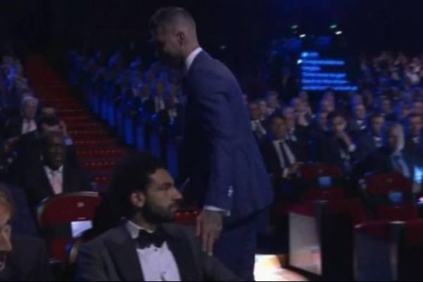 Gesto Mohamed Salah