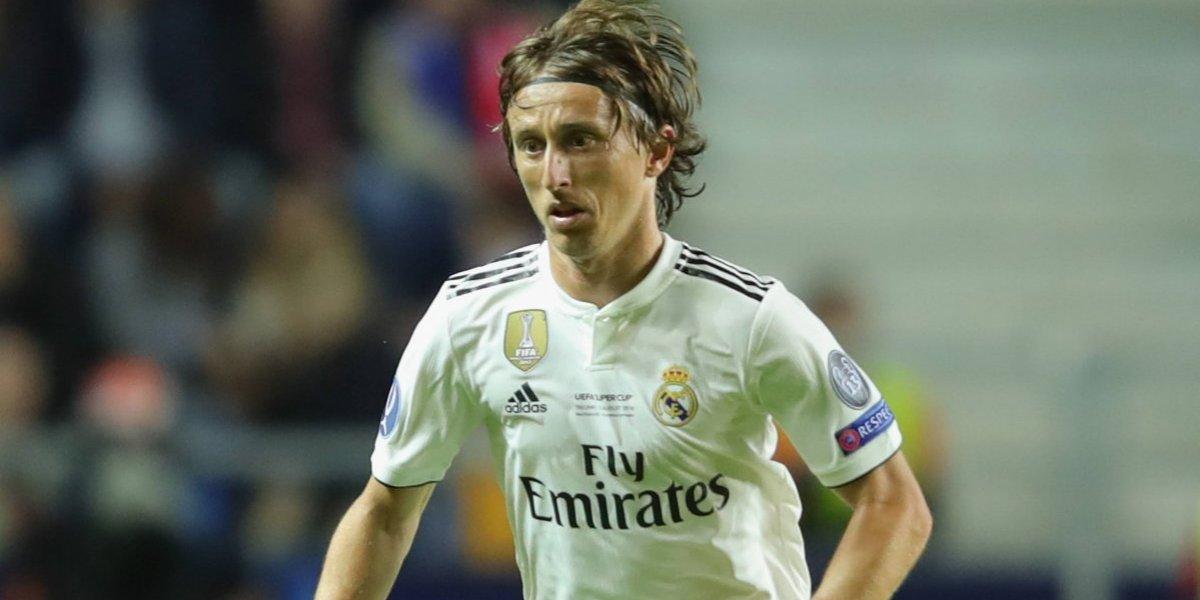 Luka Modric, elegido como el mejor jugador del año de la UEFA