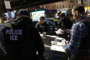 Detención de migrantes en Estados Unidos