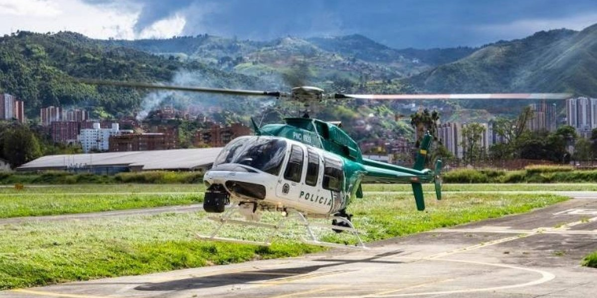 El Halcón de Medellín, pieza clave en la lucha contra la delincuencia