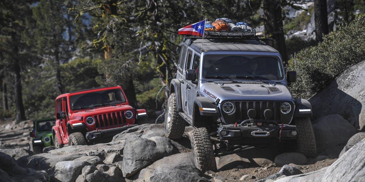 Recorrido del Rubicon Trail en el nuevo Jeep Wrangler
