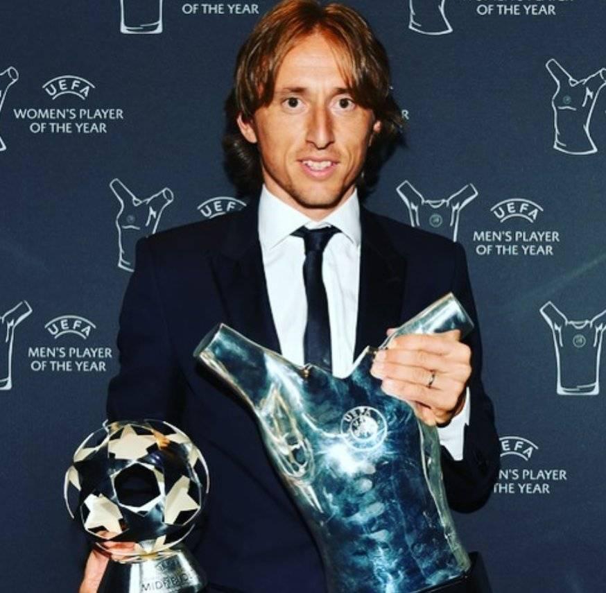 Luka Modric fue el gran ganador.