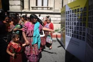 marcha por el Día Internacional de las Víctimas de Desaparición Forzada