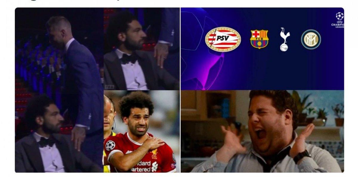 VIDEO. Los mejores memes del sorteo de la Champions y el roce entre Ramos y Salah