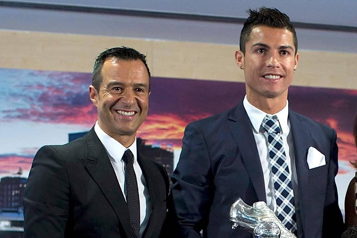 Mendes es el representante de Cristiano Ronaldo