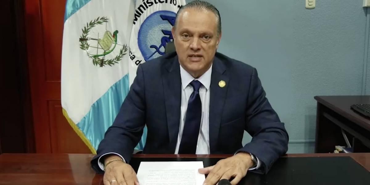 Fiscal: Denunciante entregó audio que involucra a ministro de Salud