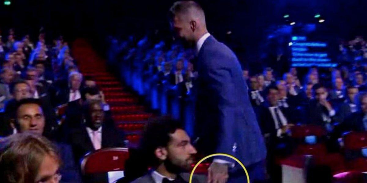 VIDEO: La polémica reacción de Mohamed Salah sobre Sergio Ramos
