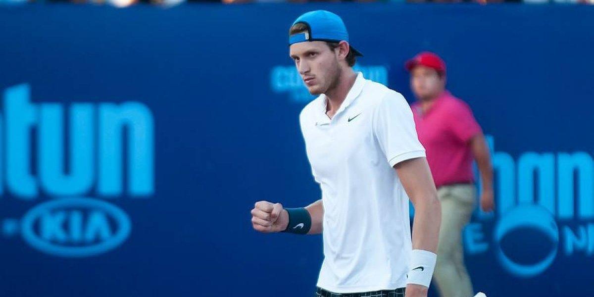 Jarry se desquitó de caída en singles y comenzó ganando en el dobles del US Open