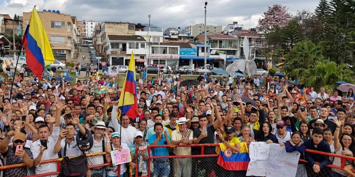 Gustavo Petro ya empezó su campaña presidencial desde Fusagasugá