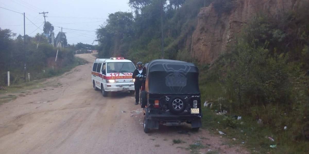 Conductor de mototaxi es asesinado en San Pedro Ayampuc