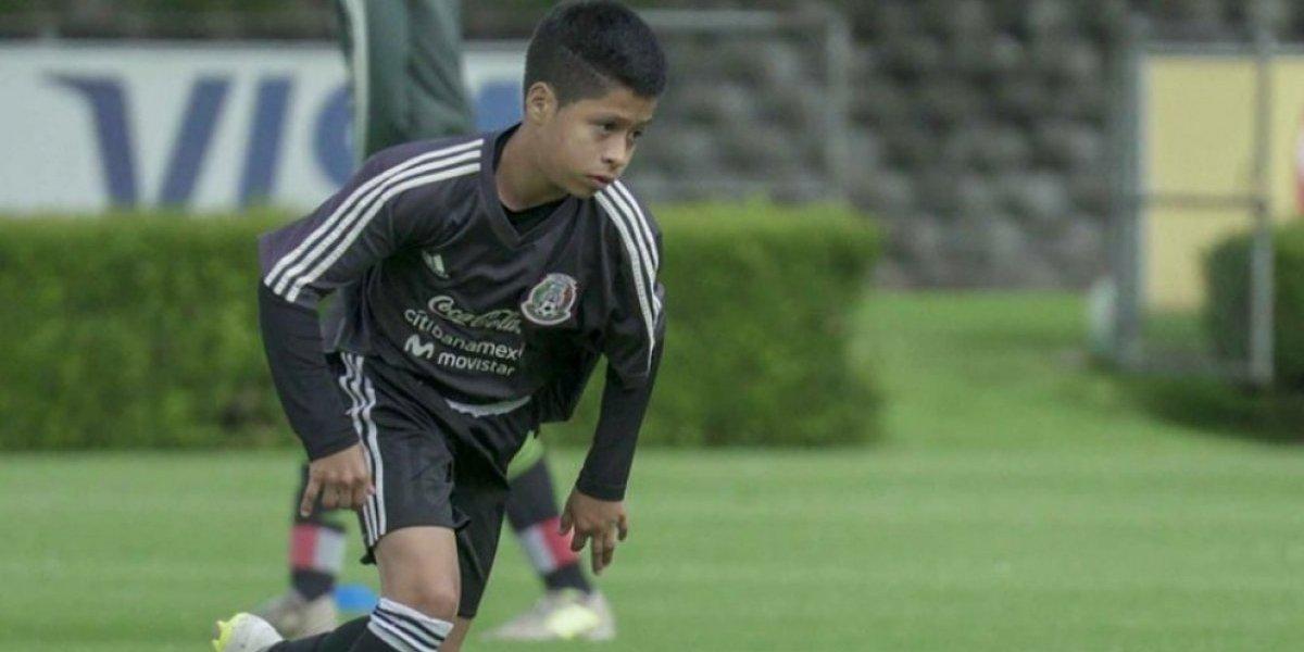 """Alex Alcalá, el """"Messi mexicano"""" de 13 años que ya juega con el Tri"""