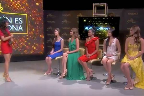 Programa De quién es la corona transmitido por Facebook