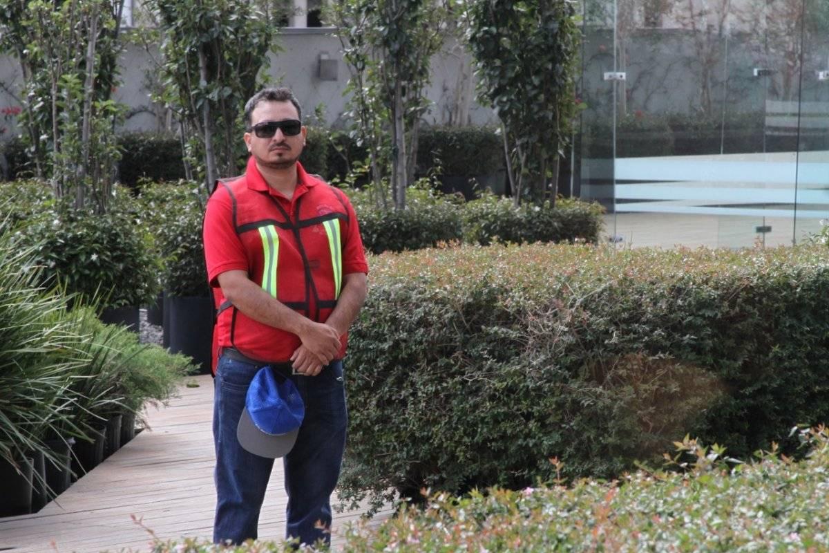 Personal del sindicato se encarga de brindarle seguridad. Foto: Nicolás Corte.