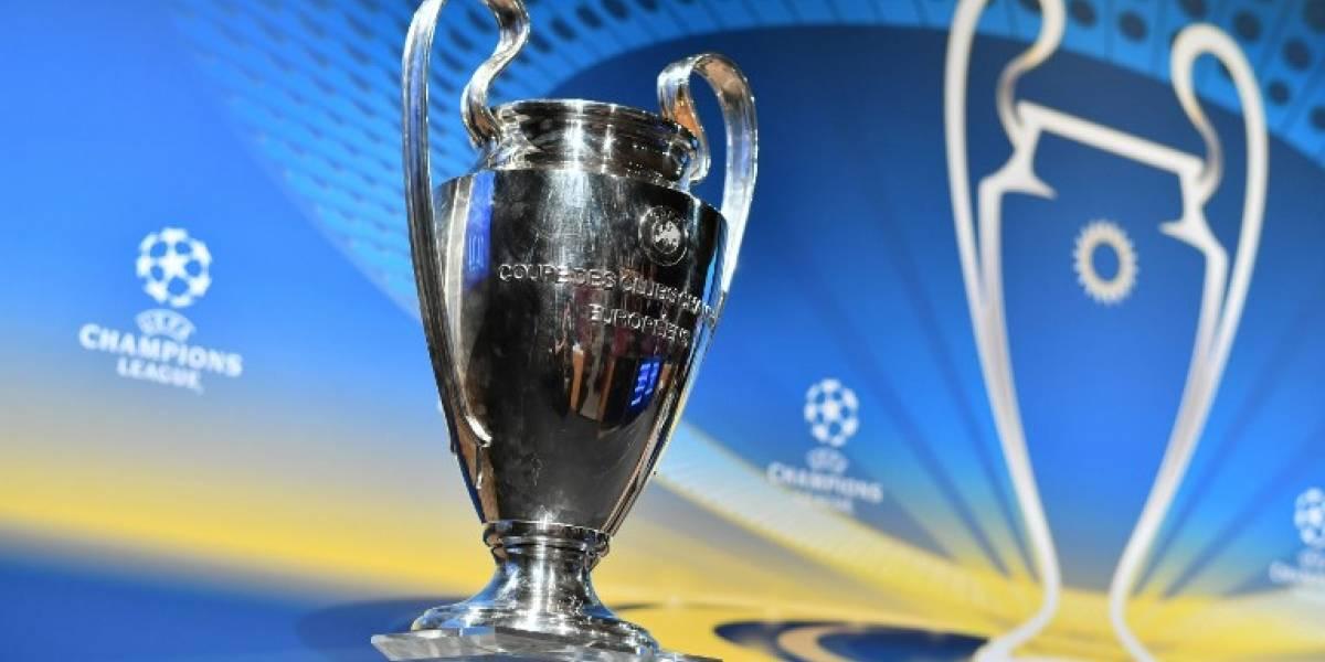 Listos los bombos para el sorteo de la UEFA Champions League