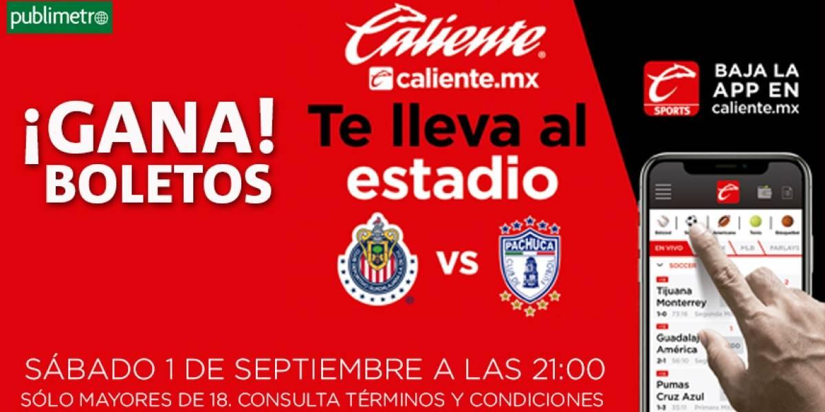¡Gana! boletos Chivas vs Pachuca