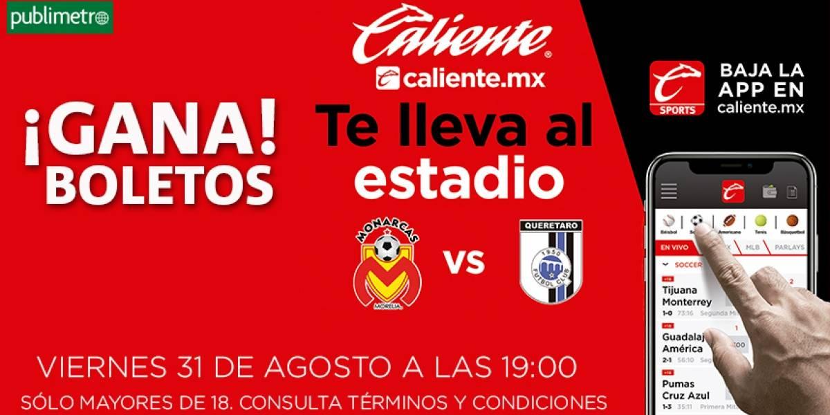 ¡Gana! boletos para Morelia vs Querétaro
