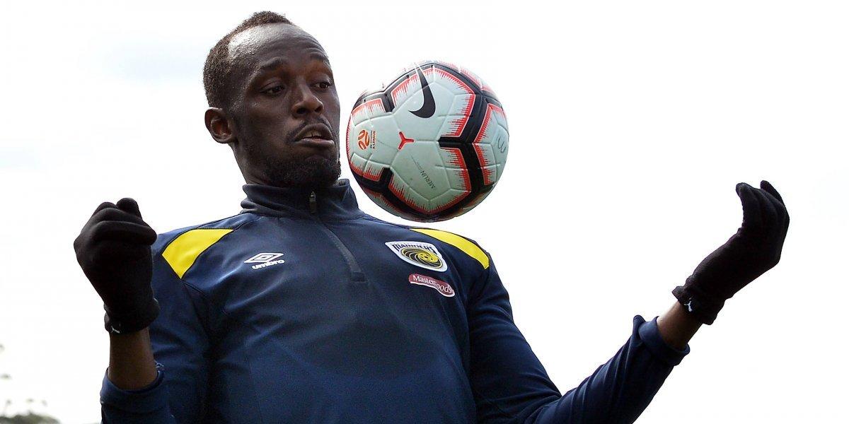 Usain Bolt calienta motores para su debut