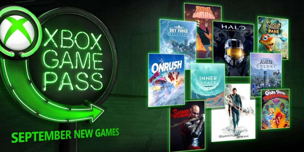 Xbox Game Pass agregará en septiembre Halo: The Master Chief Collection, Quantum Break y más