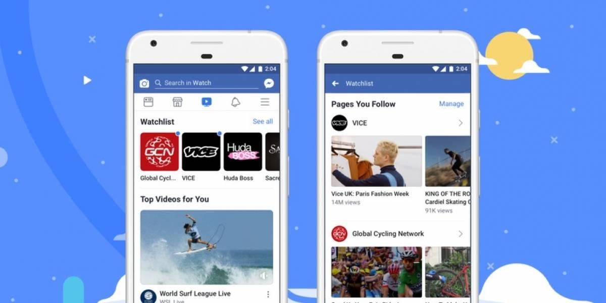 3 cosas que puedes hacer con Facebook Watch, la apuesta de video interactivo con la que Zuckerberg competirá contra Netflix y YouTube