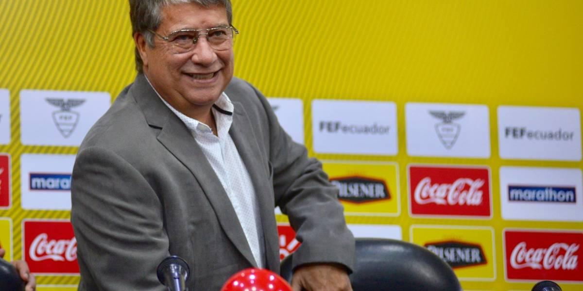 Selección ecuatoriana se entrenará el 3 de septiembre para amistosos ante Jamaica y Guatemala