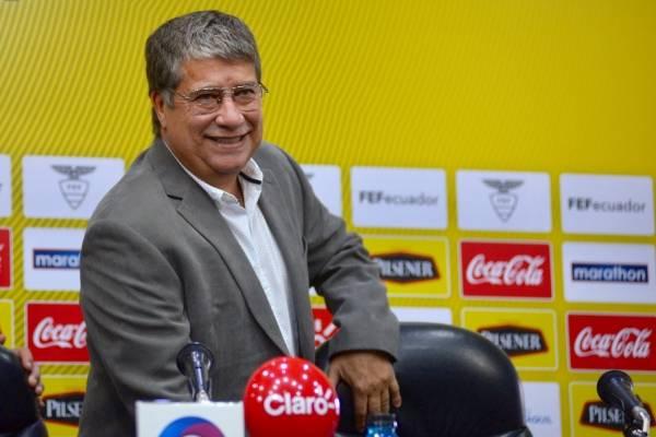 Hernan Darío Gómez DT de la selección Ecuatoriana de Fútbol.