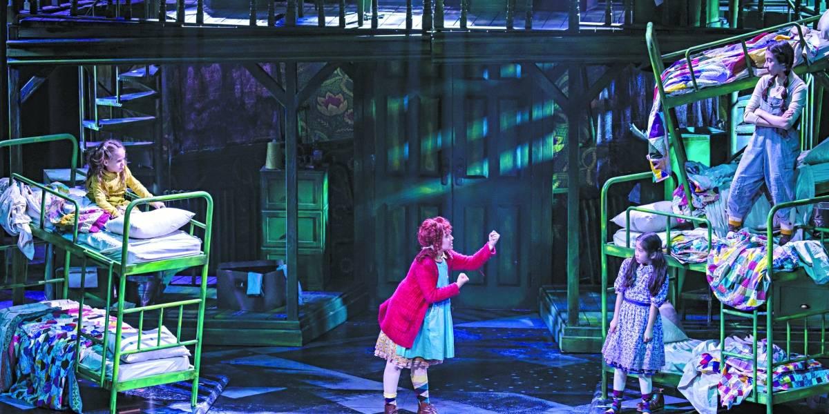 Dirigida por Miguel Falabella, Annie, o Musical dá lição de otimismo