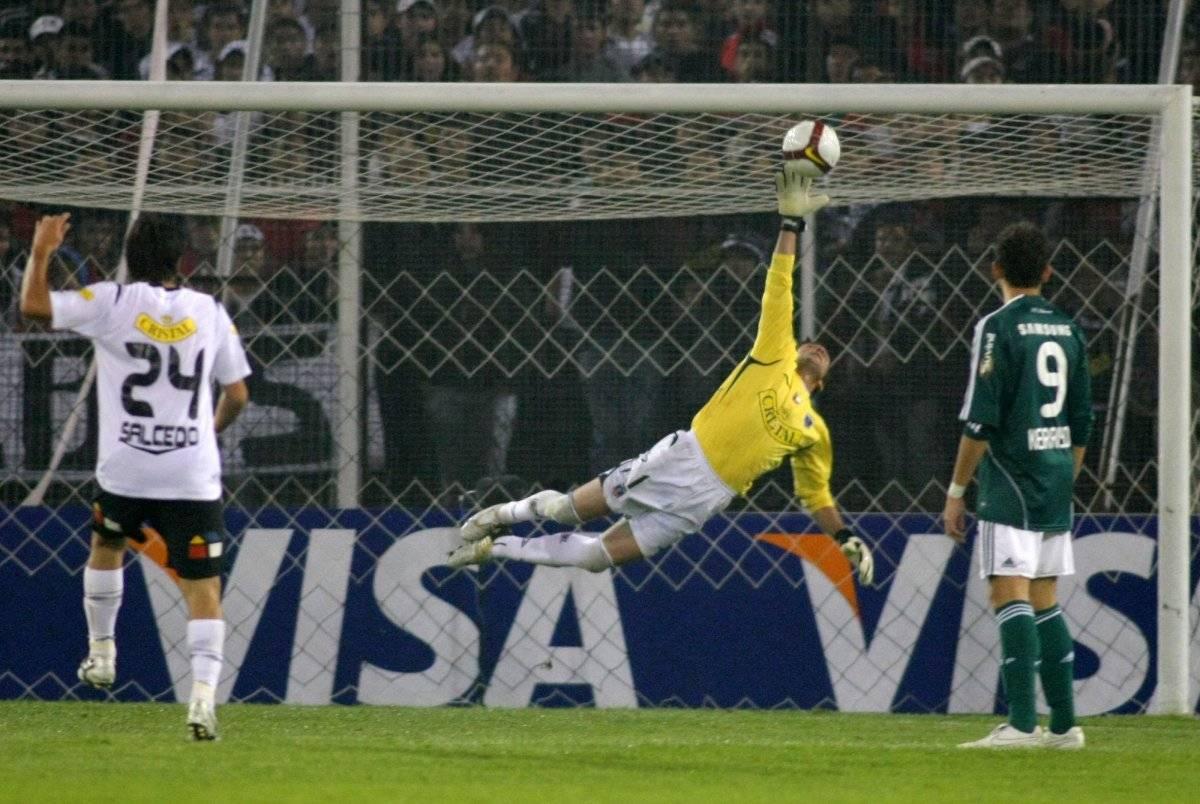 El golazo que eliminó a Colo Colo / imagen: Photosport