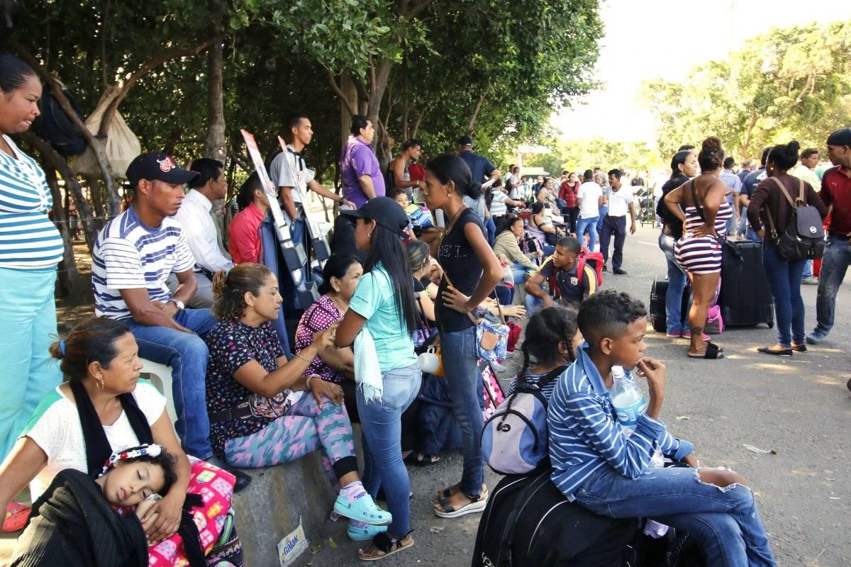 ingreso de venezolanos a Ecuador EFE