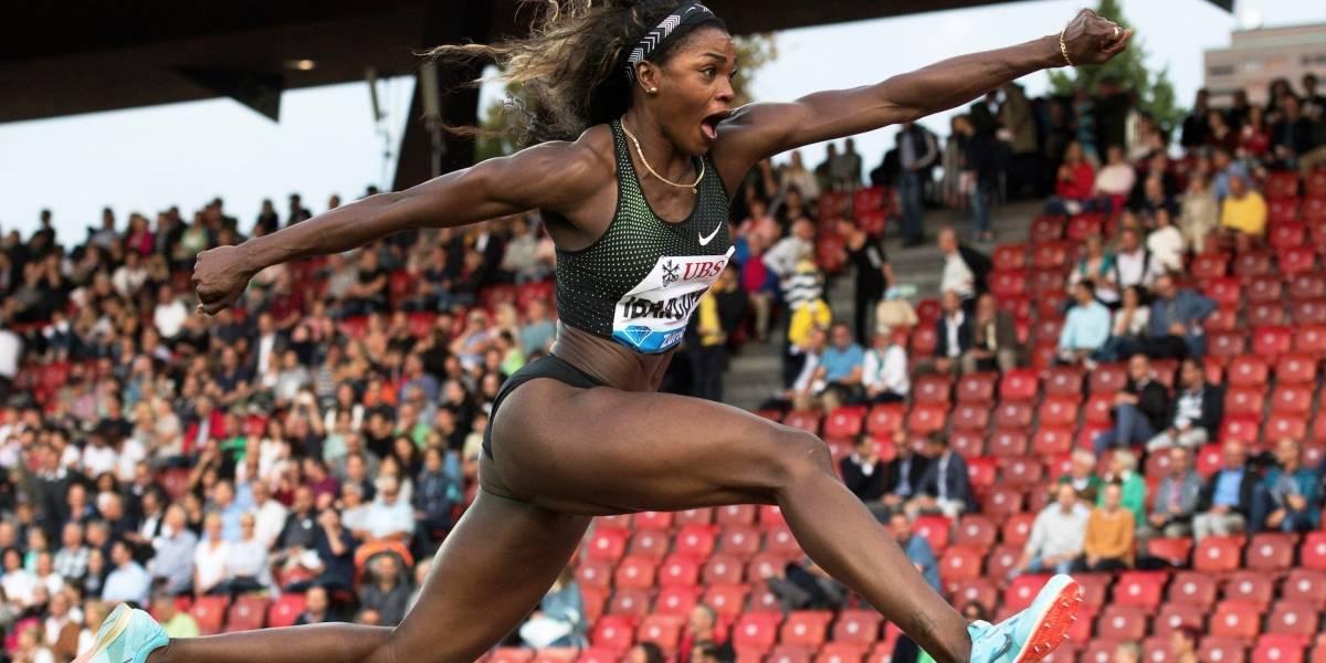 ¡Caterine Ibargüen hace historia! Campeona de salto largo en la Liga Diamante