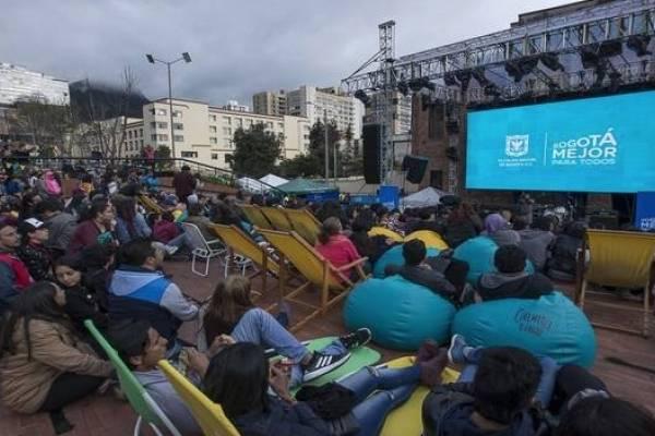 cine gratis este fin de semana en Bogotá