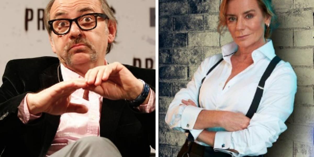 Luis Gnecco se burla de la incorporación de Ignacio Gutiérrez al programa de Kathy Salosny