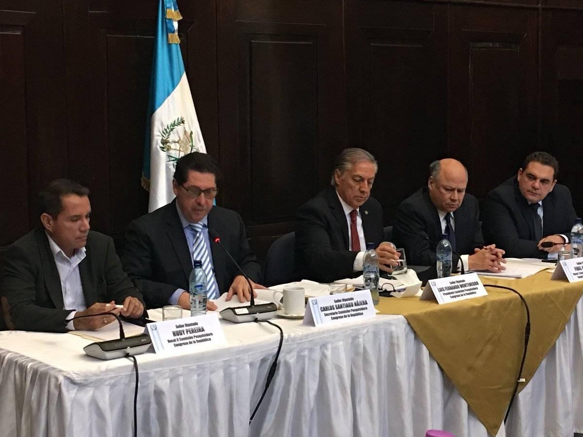 primera reunión de la comisión pesquisidora por antejuicio contra Jimmy Morales