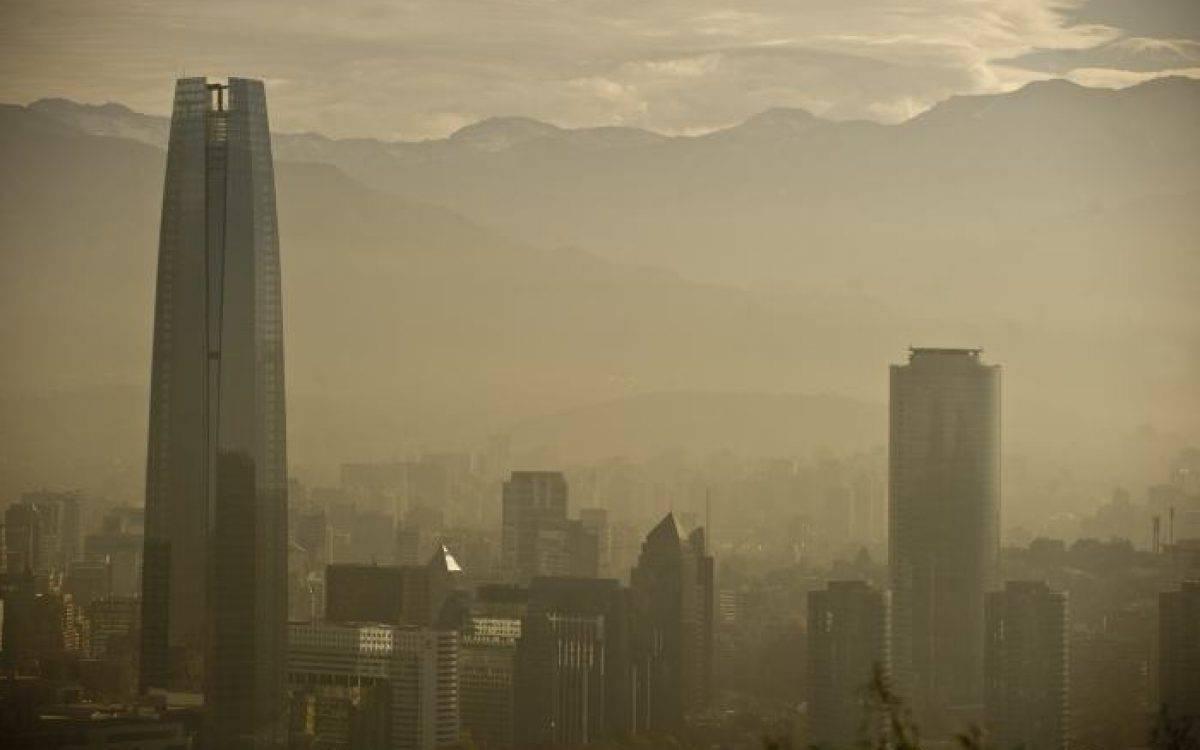 Chile: Lanzan aplicación para monitorear la contaminación de Santiago