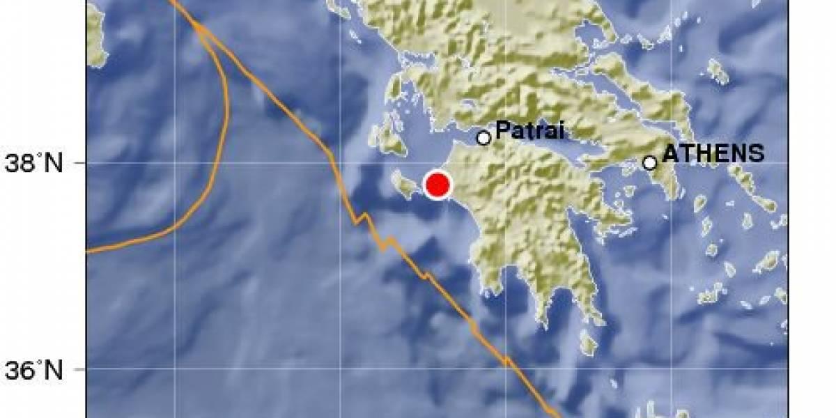 Sismo de 5.0 sacude el centro de Grecia