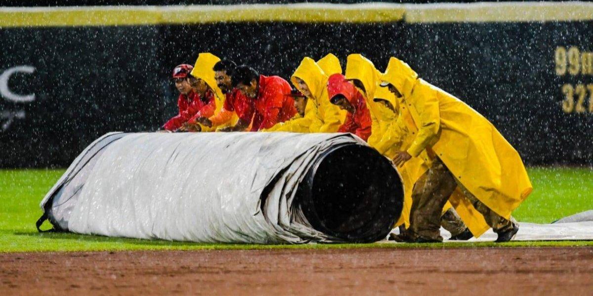 Intensa lluvia ocasiona cancelación de juego Bravos-Diablos de la LMB