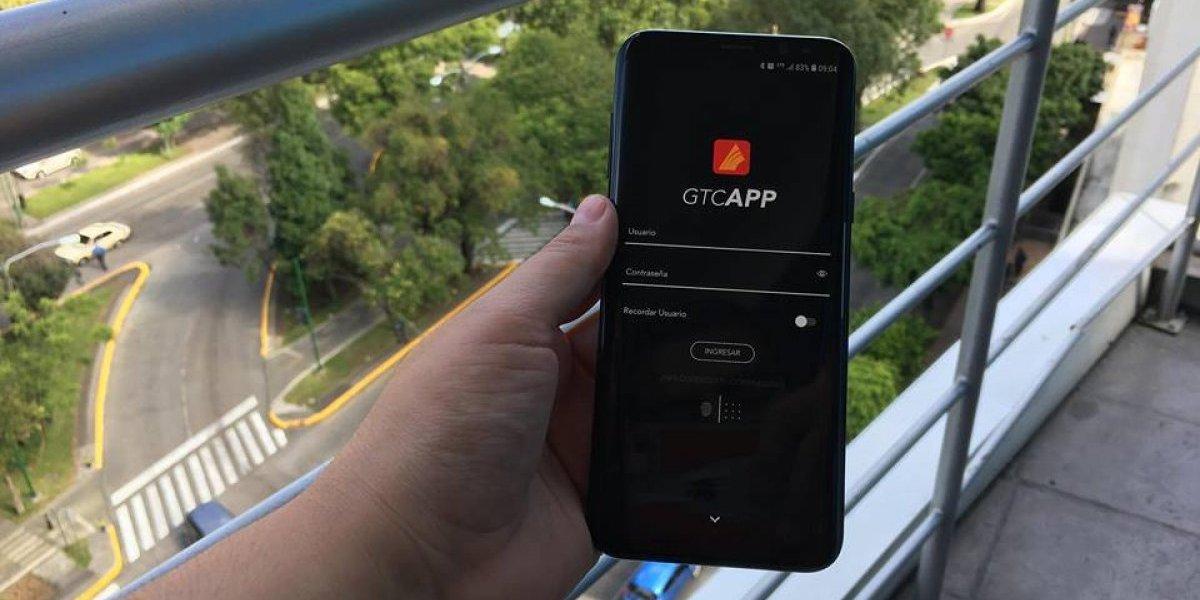 La nueva aplicación de banca móvil de GyT permite acceder a más de 150 funciones