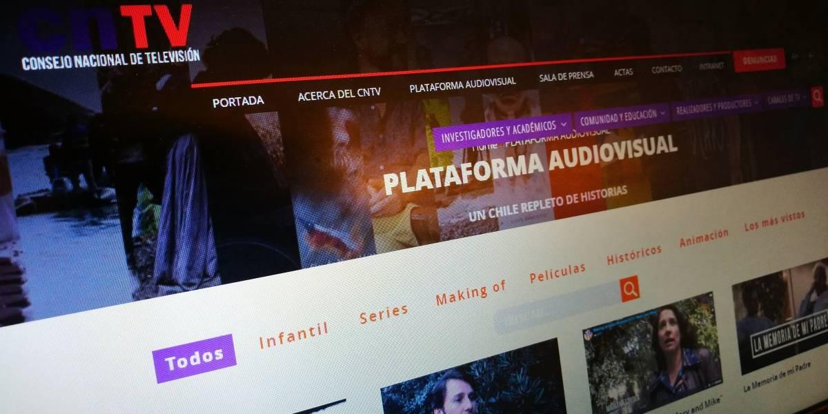 CNTV lanzó un servicio gratuito para ver series y películas chilenas