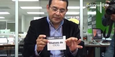 Morales sobre CICIG