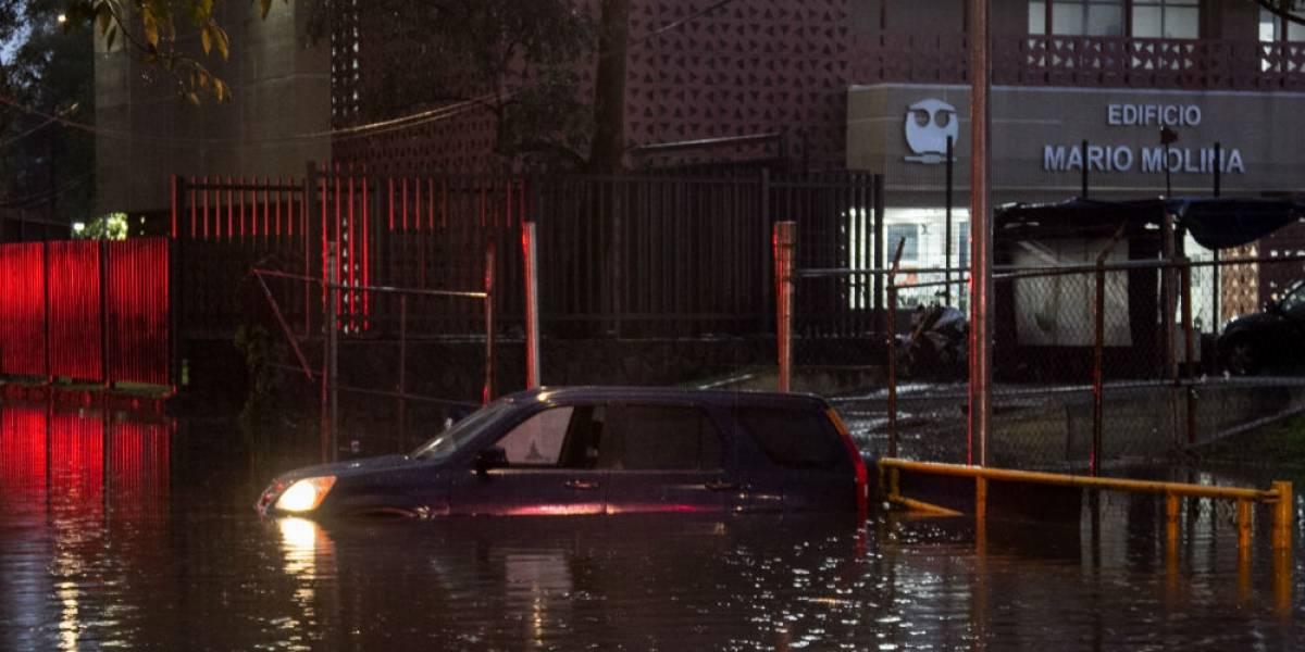 Continuarán las lluvias este viernes en la Ciudad de México