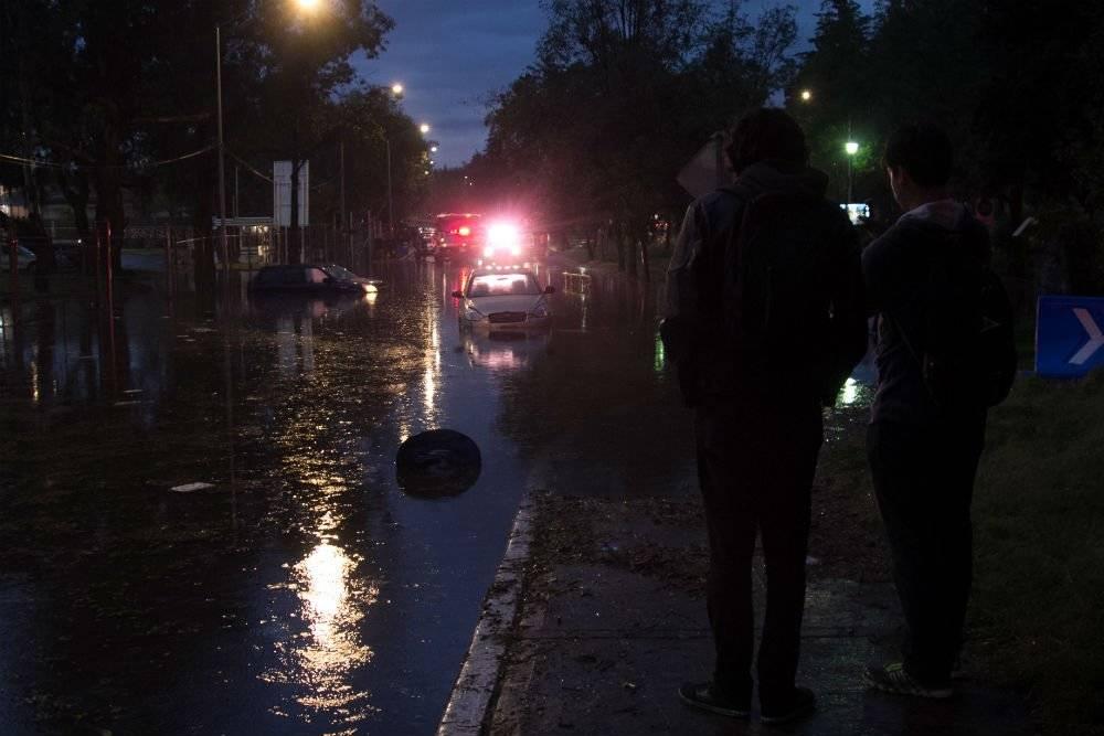 Las lluvias más fuertes fueron en la delegación Cuajimalpa, Foto: Cuartoscuro