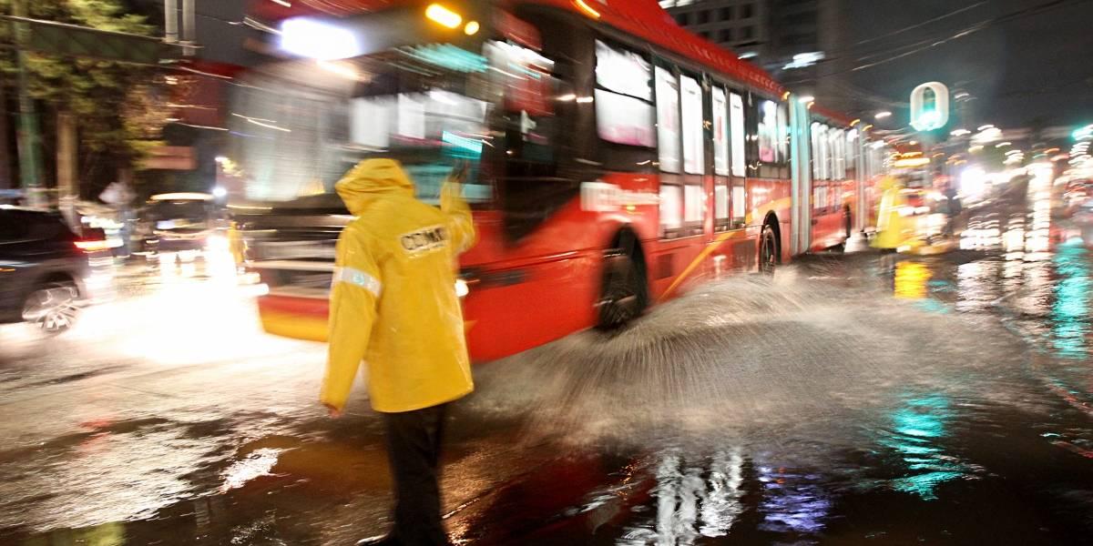 La lluvia y granizo del jueves, los más fuertes de la temporada: SACMEX